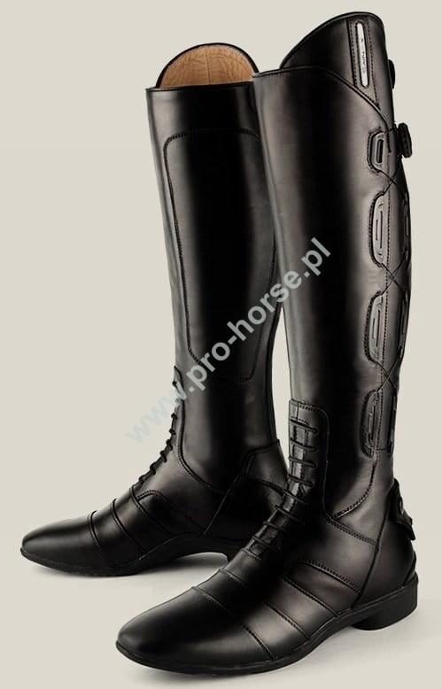 Buty Do Jazdy Konnej Wysokie York Genesis Kolor Czarny Pro Horse Sklep Jezdziecki